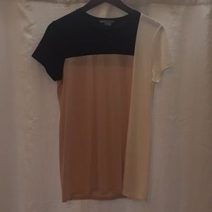 Vince Color-Black Tee Size Small